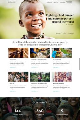 iDream Nonprofit Website Design Home Page Image