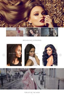 wowfactor home page screenshot