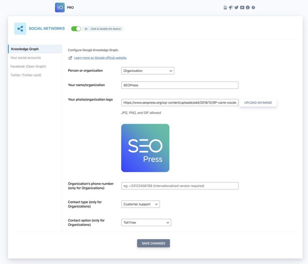 SEO Press social network feature image
